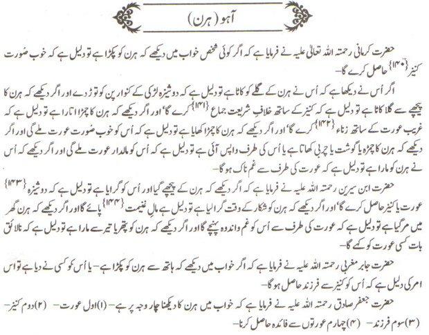 Khawab Nama khwab main haran dekhna