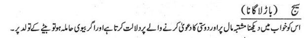 Khawab Nama Khwab Main Baar Lagana
