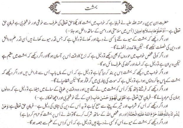 Khawab Nama Khwab Main Behashat Dekhna