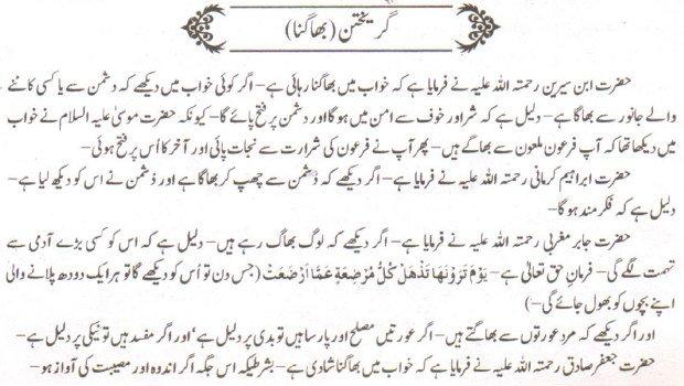 Khawab Nama Khwab Main Bhagna