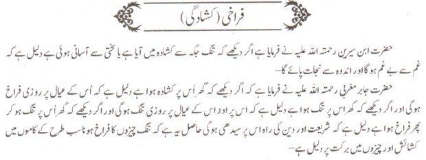 Khwab Main farakhi Ki Tabeer khwab ki tabeer