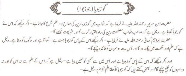 Khawab Nama Khwab Main joz boya Dekhna