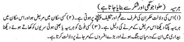 khwab nama khwab main harsiya dekhna