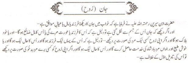Khawab Nama Khwab Main Jaan Dekhna