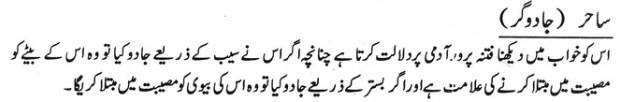 Khawab Nama Khwab Main Jadoo gar Dekhna