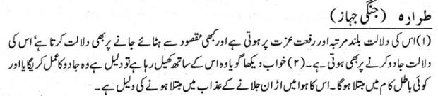 Khawab Nama Khwab Main Jangi Jahaz Dekhna