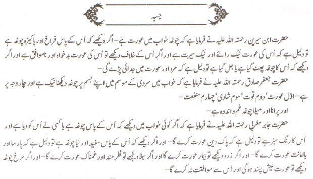 Khawab Nama Khwab Main Jubbah Dekhna