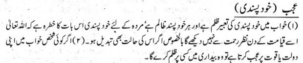 khwab nama khwab main khud-pasandi dekhna