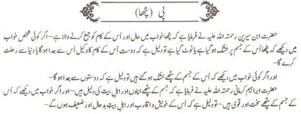 Khawab Nama Khwab Main Patha Dekhna