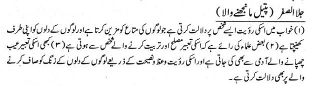 khawab nama Pateel Manjhne Wala Dekhna