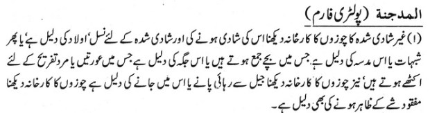 Khawab Nama Khwab Main Poltry Form Dekhna
