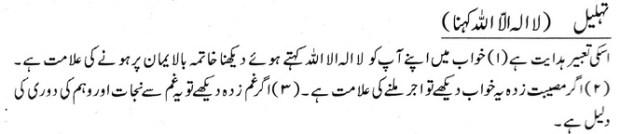 Khawab Nama Khwab Main Tehleel Parhna