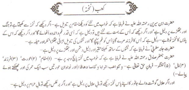 Khawab Nama Khwab Main Takhna Dekhna