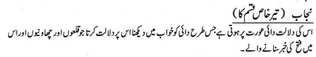 Khawab Nama Khwab Men Teer Khaas Qisim ka Dekhna
