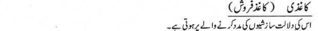 khwab nama khwab main kaghaz farosh dekhna