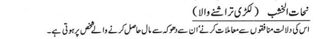 khwab nama khwab main lakri tarashny wala dekhna